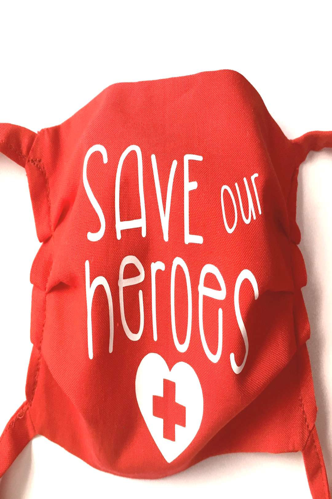 Save our Heroes Face Mask, Washable, 100% cotton, Face Protection, Adjustable Face Mask, Face Cover