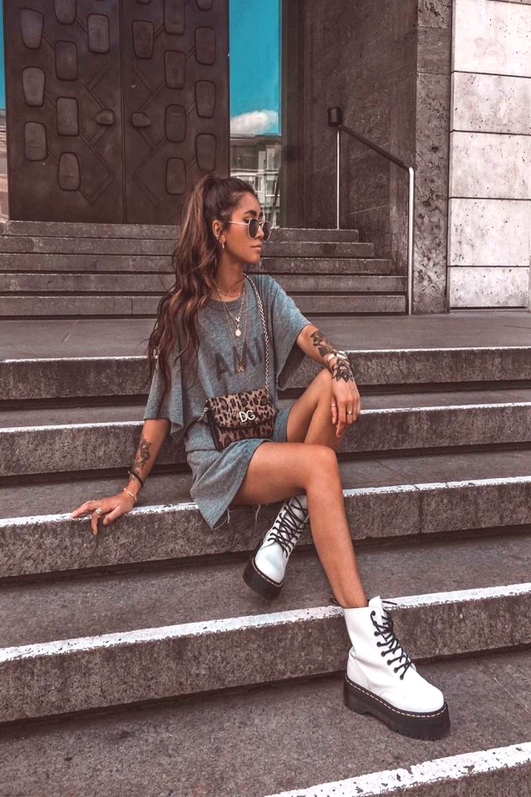 Sunglasses, summer, fashion, style, doc martins, s... -