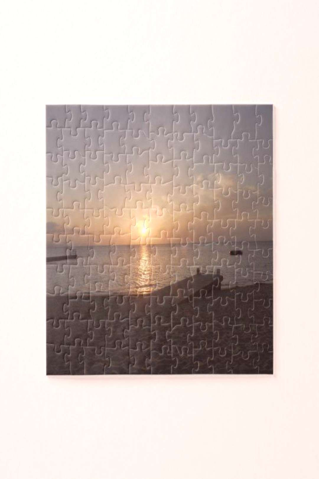 Sunset Doctor's Cave Beach Mo Bay Jamaica Puzzle