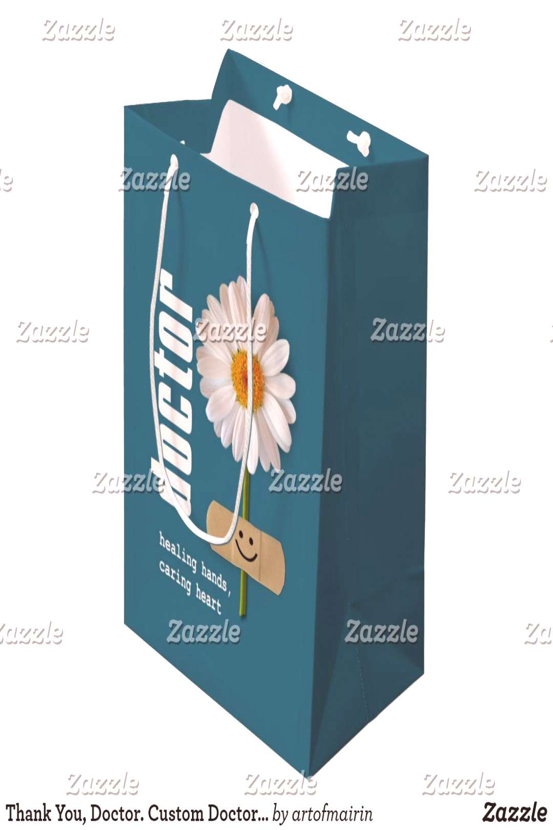 Thank You, Doctor. Custom Doctor's Name Gift Bags | #bags