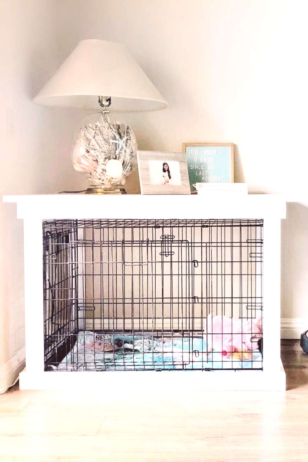 This DIY Dog Crate Furniture Piece Will Transform Your Living Room 9/3