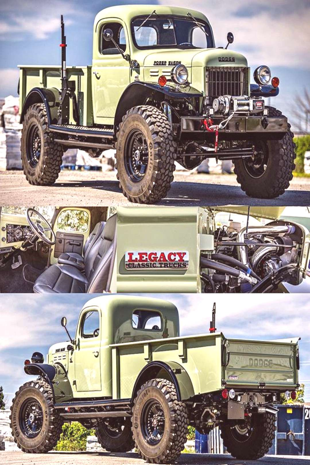 This @legacyclassictrucks Power Wagon is an absolute monster! Great to spend some time with it this