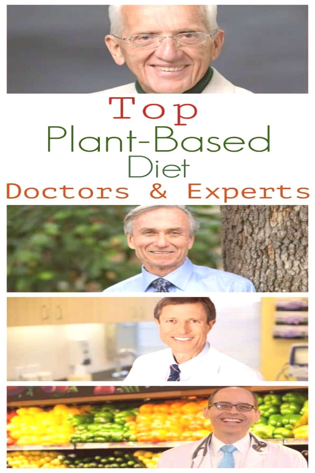 Top Plant-Based Doctors & Experts#doctors