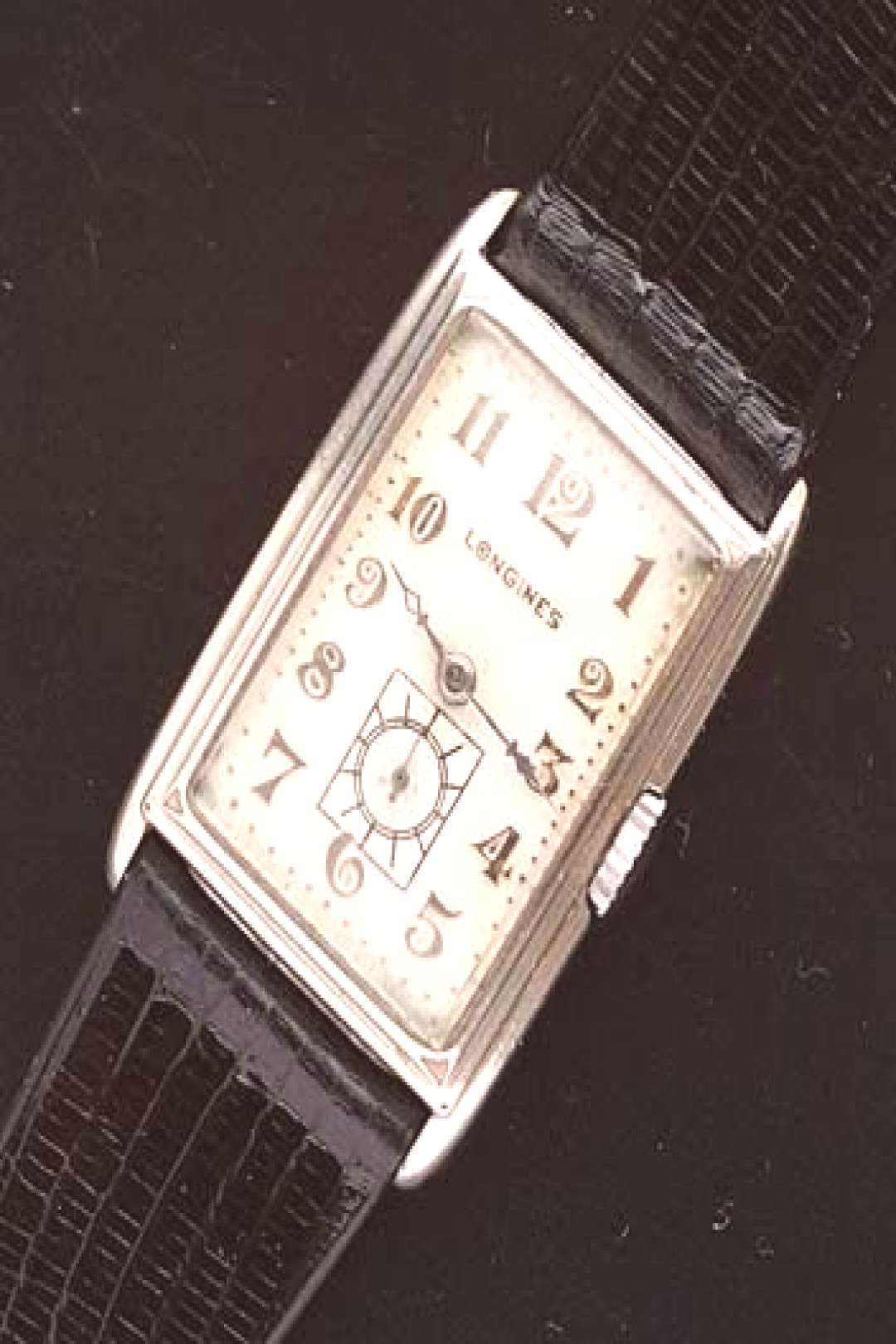 Vintage Longines rectangular doctors watch circa 1929 - Used and Vintage Watches for Sale -  Vintag