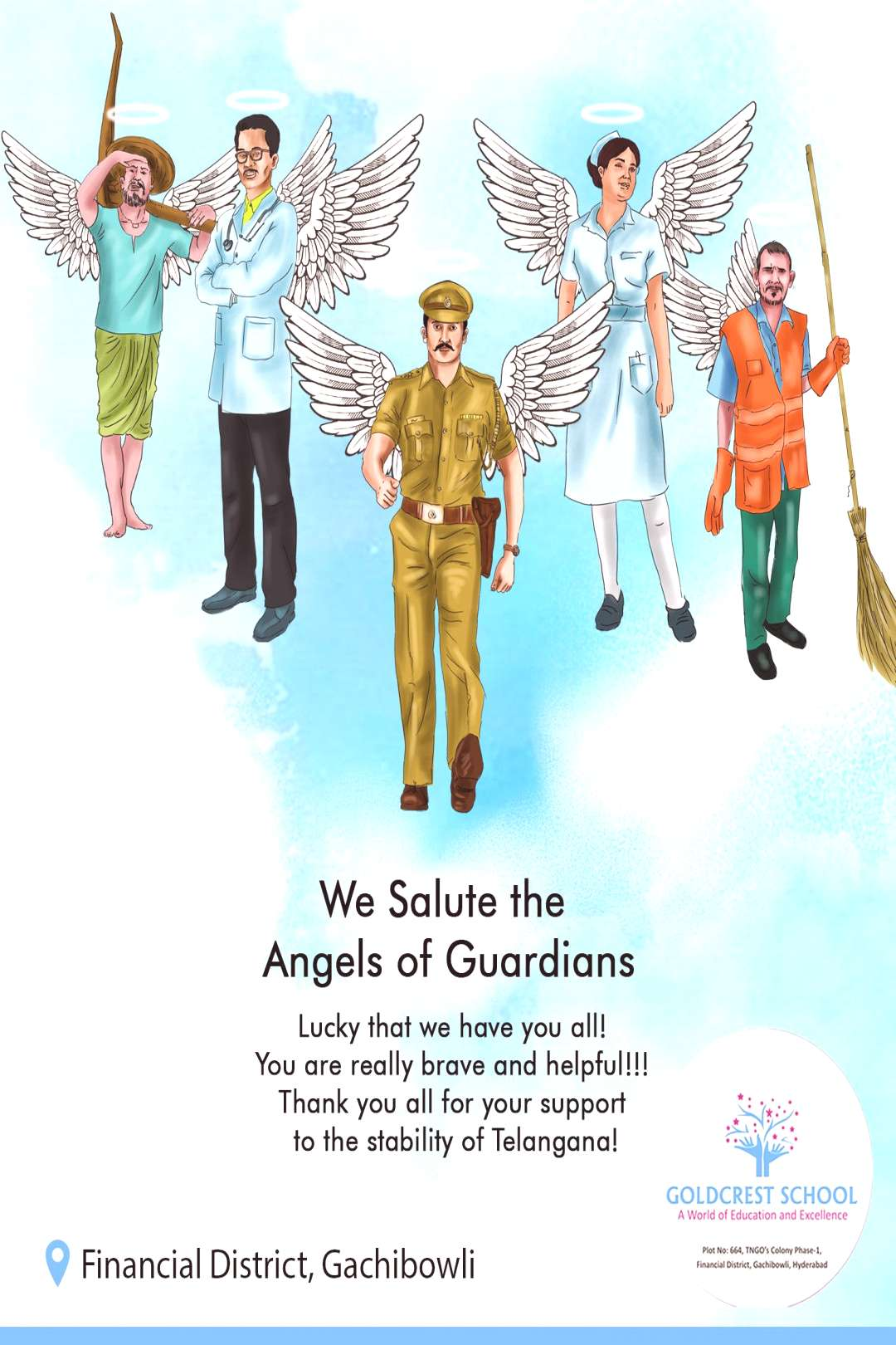 We Salute the Angels of Guardians We Salute the Angels of Guardians GHMC