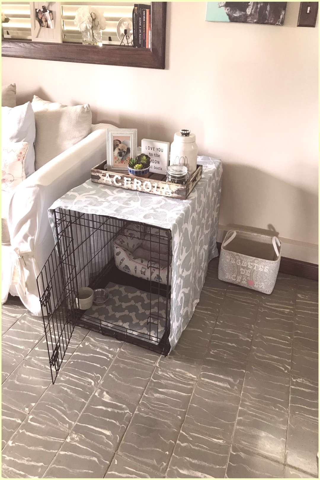 Which Type Of Crate Is Best For Your Dog?   Dog Crate Ideas Bedrooms   Dog Crate Sizes By Bre... No