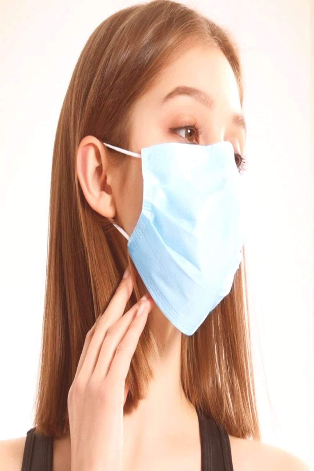 Wholesale Disposable masks three-layer breathable skin-friendly dust-proof non-woven civilian masks