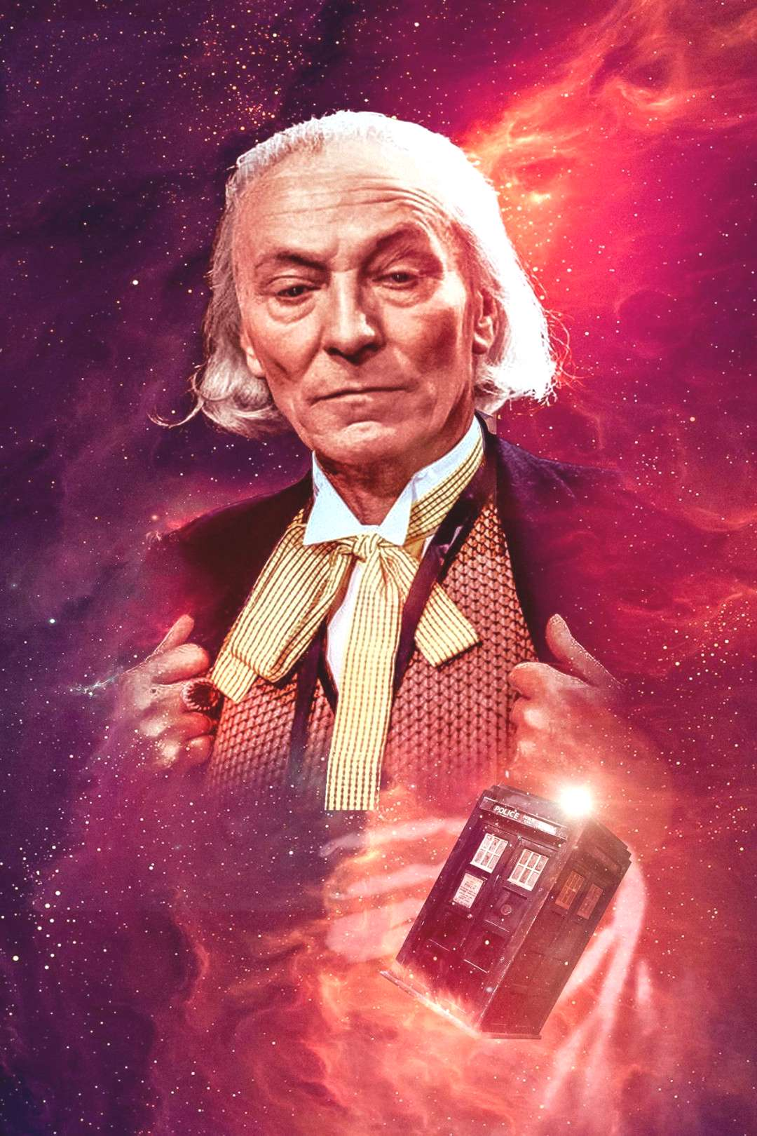 William Hartnell, The First Doctor. DOCTOR WHO (1963-1966) Classic Series