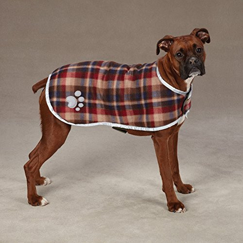 Zack amp Zoey Noreaster Blanket Coat for Dogs, 24quot X-Large,
